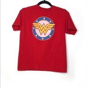Wonder Woman Top Sz M (Girl)